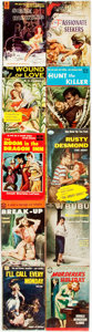 Books:Pulps, [Vintage Paperbacks]. Group of Ten Avon Vintage Paperbacks. NewYork: Avon, [1950-60s]. Publisher's bindings in original wra...(Total: 10 Items)