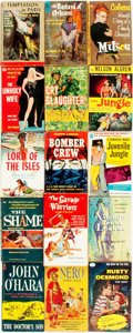 Books:Pulps, [Vintage Paperbacks]. Group of Fifteen Avon T-Series VintagePaperbacks. New York: Avon, [1950s-60s]. Includes works by Balz...(Total: 15 Items)