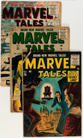 Golden Age (1938-1955):Horror, Marvel Tales Group (Atlas, 1956-57).... (Total: 11 Comic Books)