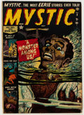 Golden Age (1938-1955):Horror, Mystic #8 (Atlas, 1952) Condition: GD/VG....