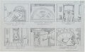 "Original Comic Art:Miscellaneous, Jack Kirby Fantastic Four ""The Menace of Magneto"" Storyboard#15 Original Animation Art (DePatie-Freleng, 1978)...."