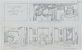"Original Comic Art:Miscellaneous, Jack Kirby Fantastic Four ""The Menace of Magneto"" Storyboard#14 Original Animation Art (DePatie-Freleng, 1978)...."