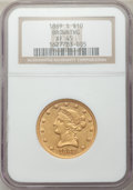Liberty Eagles, 1869-S $10 XF45 NGC....