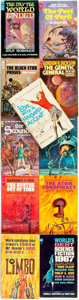 Books:Pulps, [Vintage Paperbacks]. Group of Eleven A and F-Series AcePaperbacks. New York: Ace, [circa 1950-60s]. Includes works byGord... (Total: 11 Items)