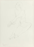 Post-War & Contemporary:Contemporary, ROBERT GRAHAM (American, 1938-2008). Sitting Nude (twoworks), 1994; 1995. Lithograph . 15 x 10-3/4 inches (38.1 x 27.3... (Total: 2 Items)