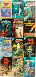 Books:Pulps, [Vintage Paperbacks]. Group of Twelve Ace Double Paperbacks. NewYork: Ace, [1960-70s]. Includes works by Koontz, Temple and...(Total: 12 Items)