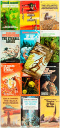 Books:Pulps, [Vintage Paperbacks]. Group of Thirteen Ace Science FictionPaperbacks. New York: Ace, [1970s]. Includes works by Burroughs,...(Total: 13 Items)