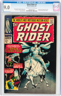 Silver Age (1956-1969):Western, The Ghost Rider #1 (Marvel, 1967) CGC VF/NM 9.0 Off-white to whitepages....