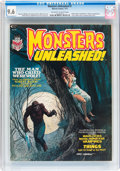 Magazines:Horror, Monsters Unleashed #1 (Marvel, 1973) CGC NM+ 9.6 Off-white to white pages....