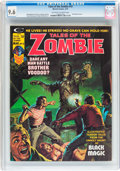 Magazines:Horror, Tales of the Zombie #10 (Marvel, 1975) CGC NM+ 9.6 Off-white to white pages....