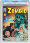 Magazines:Horror, Tales of the Zombie #9 (Marvel, 1975) CGC NM/MT 9.8 Off-white towhite pages....