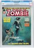 Magazines:Horror, Tales of the Zombie #1, 3, and 5 CGC Group (Marvel, 1973-74) Off-white to white pages.... (Total: 3 Comic Books)