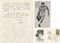 Basketball Collectibles:Others, Al Cervi Signed Ephemera Lot of 3. Early NBA backcourt force AlCervi provides a trio of signatures to the provided lot, wh...