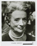 "Movie/TV Memorabilia:Autographs and Signed Items, Mildred Natwick Signed Photo. A b&w 8"" x 10"" photo of theactress, inscribed and signed by her in black felt tip. InExcelle... (Total: 1 Item)"