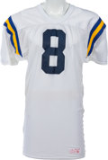 Football Collectibles:Uniforms, 1990-91 Tommy Maddox Game Worn UCLA Bruins Jersey. ...
