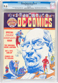 Magazines:Fanzine, Amazing World of DC Comics #3 (DC, 1974) CGC NM+ 9.6 White pages....