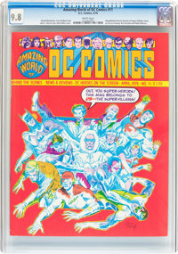 Amazing World of DC Comics #11 (DC, 1976) CGC NM/MT 9.8 White pages