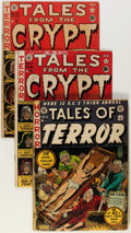 Golden Age (1938-1955):Horror, Tales From the Crypt Group (EC, 1951-52) Condition: Average GD....(Total: 5 Comic Books)