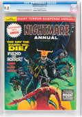 Magazines:Horror, Nightmare Annual #1 (Skywald, 1972) CGC NM/MT 9.8 Off-white to white pages....