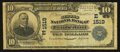 National Bank Notes:Maryland, Cumberland, MD - $10 1902 Plain Back Fr. 625 The Second NB Ch. #(E)1519. ...