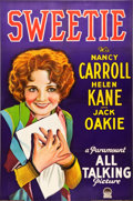 "Movie Posters:Musical, Sweetie (Paramount, 1929). Full-Bleed One Sheet (27"" X 41"") StyleA.. ..."
