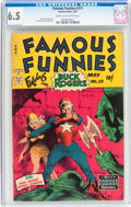 Golden Age (1938-1955):Science Fiction, Famous Funnies #211 (Eastern Color, 1954) CGC FN+ 6.5 Cream tooff-white pages....