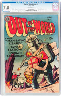 Golden Age (1938-1955):Science Fiction, Out of This World #1 (Avon, 1950) CGC FN/VF 7.0 Off-white pages....