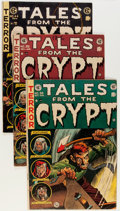 Golden Age (1938-1955):Horror, Tales From the Crypt #38, 39, and 44 Group (EC, 1953-54) Condition:VG/FN.... (Total: 3 Comic Books)