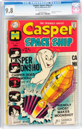 Bronze Age (1970-1979):Cartoon Character, Casper Spaceship #1 (Harvey, 1972) CGC NM/MT 9.8 Off-white to white pages....