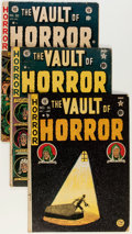 Golden Age (1938-1955):Horror, Vault of Horror Group (EC, 1951-54) Condition: Average GD....(Total: 6 Comic Books)