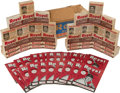 Baseball Cards:Sets, 1950 Royal Pudding Retail Case with Forty-One Uncirculated Boxes!...