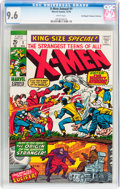 Bronze Age (1970-1979):Superhero, X-Men Annual #1 Don/Maggie Thompson Collection pedigree (Marvel,1970) CGC NM+ 9.6 White pages....