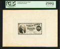 Fractional Currency:Fourth Issue, 25¢ Fourth Issue Face Essay Plate Proof PCGS Superb Gem New 67PPQ.. ...