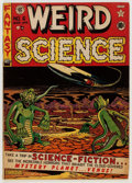 Golden Age (1938-1955):Science Fiction, Weird Science #6 (EC, 1951) Condition: VG+....