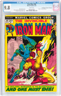 Bronze Age (1970-1979):Superhero, Iron Man #46 Don/Maggie Thompson Collection pedigree (Marvel, 1972)CGC NM/MT 9.8 White pages....