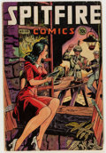 Golden Age (1938-1955):War, Spitfire Comics #133 (Elliot, 1945) Condition: GD/VG....