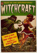 Golden Age (1938-1955):Horror, Witchcraft #5 (Avon, 1953) Condition: FN....