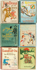 Books:Children's Books, L. Frank Baum. Group of Six Children's Titles by L. Frank Baum.Includes one first edition (Kabumpo of Oz). Various publ...(Total: 6 Items)