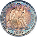 Seated Dimes, 1889-S 10C MS66 PCGS. Fortin-107....