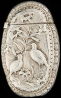 Silver Smalls:Match Safes, A GORHAM SILVER AND SILVER GILT MATCH SAFE, Providence, RhodeIsland, circa 1883. Marks: (lion-anchor-G), STERLING,(dat...