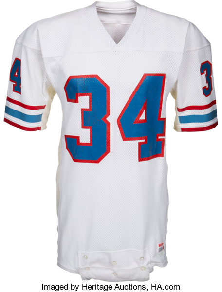 brand new ffdb9 85af6 1982-84 Earl Campbell Game Worn Houston Oilers Jersey ...