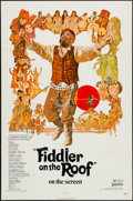 "Movie Posters:Musical, Fiddler on the Roof (United Artists, 1972). One Sheet (27"" X 41""). Musical.. ..."