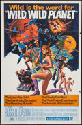 "Movie Posters:Science Fiction, Wild, Wild Planet (MGM, 1967). One Sheet (27"" X 41""). ScienceFiction.. ..."