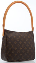 Luxury Accessories:Bags, Louis Vuitton Classic Monogram Canvas Looping MM Bag. ...