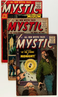 Golden Age (1938-1955):Horror, Mystic Group (Atlas, 1955-56).... (Total: 4 Comic Books)