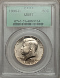 Kennedy Half Dollars: , 1985-D 50C MS67 PCGS. PCGS Population (82/1). NGC Census: (76/3). Mintage: 19,814,034. Numismedia Wsl. Price for problem fr...