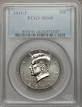 Kennedy Half Dollars, 2011-P 50C MS68 PCGS. PCGS Population (17/4). ...