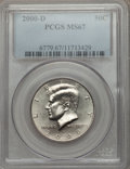 Kennedy Half Dollars: , 2000-D 50C MS67 PCGS. PCGS Population (60/0). NGC Census: (43/0).Numismedia Wsl. Price for problem free NGC/PCGS coin in ...