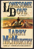 Books:Fiction, Larry McMurtry. SIGNED. Lonesome Dove. New York: Simon andSchuster, 1985. First hardcover edition with price-clipped du...
