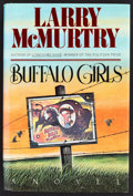 Books:Fiction, Larry McMurtry. SIGNED. Buffalo Girls. New York: Simon and Schuster, 1990. First hardcover edition with dust jacket. Ver...